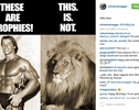 Schwarzenegger of the Day: Arnold Has a Message for Lion Hunters