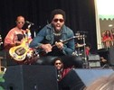 Lenny Kravitz's Schlong Jumped Out on Stage to Join Him