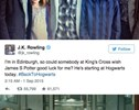 Nerd Alert: Today is Harry Potter's Son's First Day at Hogwarts