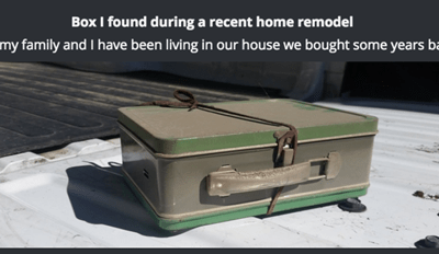 Can You Guess What Hidden Treasure Was Found in This Renovation Mystery Box?