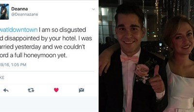 Enraged Bride Live-Tweets Terrible Customer Service from W Hotel on the Night of Her Honeymoon