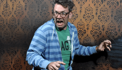These Hilarious Pictures of People Being Scared in a Haunted House Will Make You Think Twice About Visiting a Haunted House With a Hidden Camera