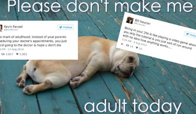 These 28 Adulthood Tweets Are Painfully Relatable