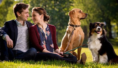 This Couple's Sweet Love Story Is Really All About Their Dogs