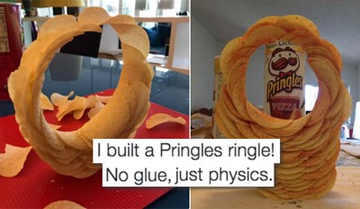 The Magic of the Pringles Ring Challenge Can Not Be Denied