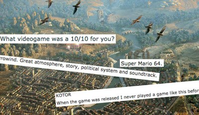 Gamers Discuss Which Game Was a 10/10 for Them, and Someone Queue up the Nostalgia