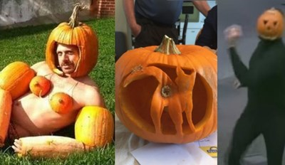 In Honor of National Pumpkin Day Here Are All the Spookiest Pumpkins and Pumpkin Memes