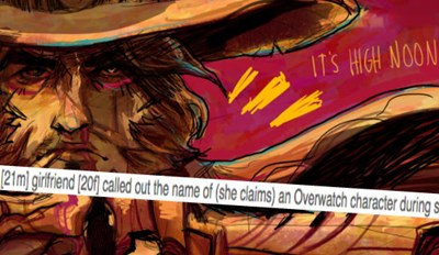 Guy's Girlfriend Cries out Overwatch Character's Name in the Heat of Passion, and He Made the Mistake of Asking the Internet about It