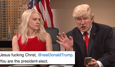 Woman Absolutely Shames Donald Trump in a Twitter Rant After Trump Tweets About Saturday Night Live Sketch