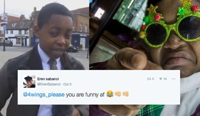 This Hilarious Kid Going Around London Reviewing Chicken Shops Is Just What 2016 Needed
