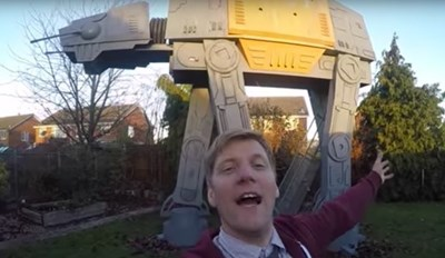 Dad of the Day: Scratch That, Dad of the Year Builds the Ultimate Star Wars-Inspired Fort