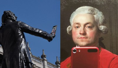 Museum Displays Get Their Selfie Game Going on Twitter For #MuseumSelfie Day