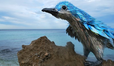 These Beautiful Animal Sculptures Were Made From Broken CDs