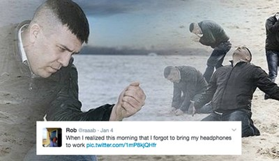 Twitter Expresses the Pain of Forgetting Your Headphones at Home