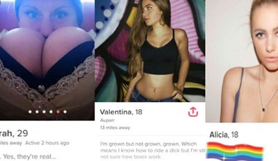 30 Tinder Profiles That Did Way With Small Talk, And Were Shamelessly Slutty
