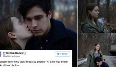 Couple Takes Cringe-Inducing Emo Breakup Photos, Internet Gives Them Proper Roasting