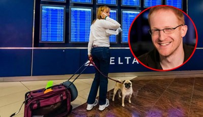 Guy Delivers Sweet Justice When a Rude Woman Lets Her Dog Relieve Itself in the Middle of an Airport