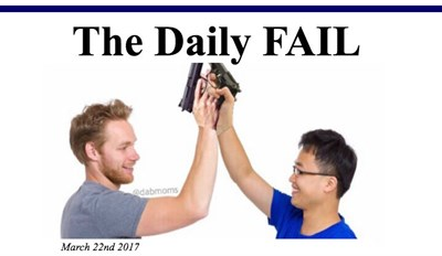 The Daily FAIL: How Americans High Five