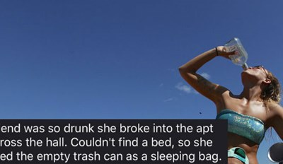 34 Hilarious and Crazy Drunk Confessions In Honor Of the People About to Get Drowned In Booze By Thirsty Thursday