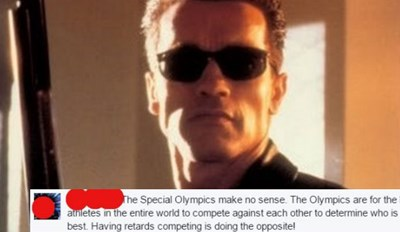 Arnold Schwarzenegger Proceeds to Obliterate Facebook Idiot Who Ignorantly Posts Special Olympics Shouldn't Exist