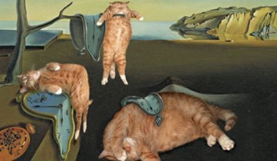 Fat Cat Art Is Our Favorite Way to Enjoy Famous Paintings