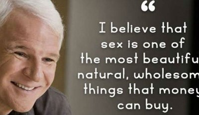 17 Wise and Entertaining Quotes From Steve Martin to Crush Your Boredom and Expand Your Horizons