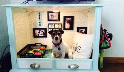 10 Cool DIY Dog Beds You Can Make For Your Baby