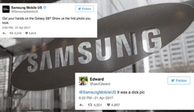 Samsung Destroys Dude's Dick Pick With One Savage Tweet