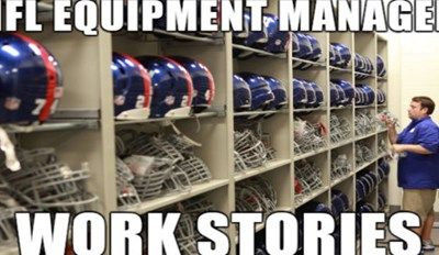 Crush Your Boredom With These Work Stories Passed Along By a Former NFL Equipment Manager