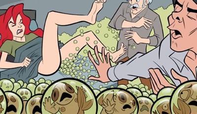 comics acidos disney