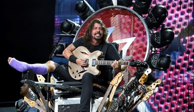 Dave Grohl Designed a Rad Tour Throne While High on Oxycodone