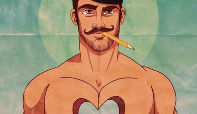 Mickey Mouse and Other Disney Classics Transformed Into Sexy Gay Men