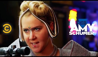 Amy Schumer Channels Her Inner Terminator in this Time Travel Sketch
