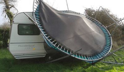 Storm Imogen Is Coming for Your Trampolines