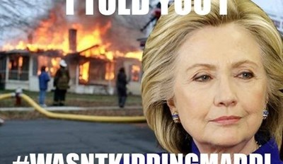 Hillary Clinton's Fundraising Efforts Sparked a Whole New Kind of Email Scandal by Creating the Hashtag #ImNotKiddingMaddi