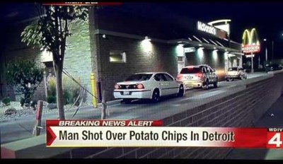Detroit Chill, There is No Need to Shoot a 60 Year Old Man in the Crotch for a Bag Chips