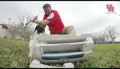 Watch These College Coaches Go 'Office Space' on a Fax Machine