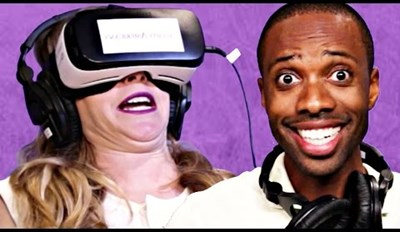 Four Dweebs Try Out VR Porn and are Terrible at It