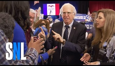 Larry David's SNL Sketch Explains What Went Wrong For Bernie Sanders in Iowa