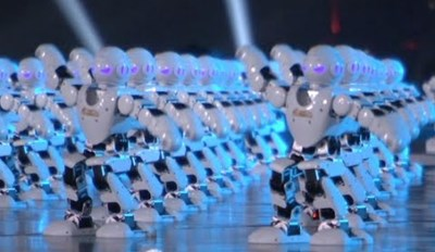 Happy Chinese New Year! Here are 540 Dancing Robots to Get Your Year of the Monkey Started Right