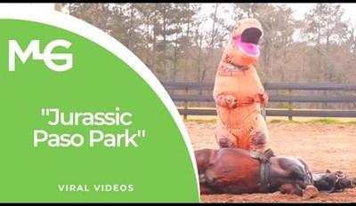 God Creates Dinosaurs. Dinosaurs Ride Horses. Dinosaurs Inherit the Earth.