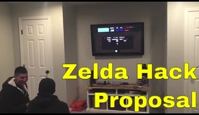 This Marriage Proposal Using Legend of Zelda Will Warm Even the Hardest Gamer Heart