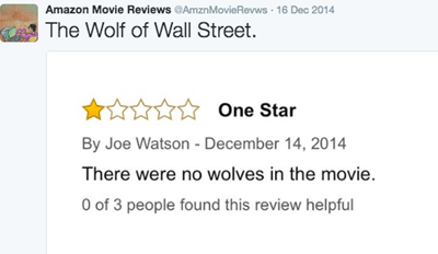 This Twitter Account Collects the Best Movie Reviews on Amazon
