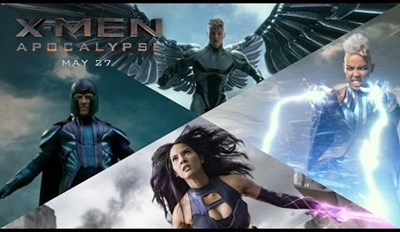 Apocalypse Is Back With Some Ridiculous Voice Modulation in the Newest X-Men: Apocalypse Trailer