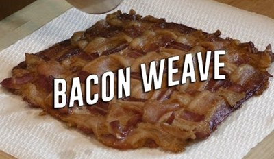 Step Up Your Sandwich Game With a Quick & Simple Bacon Weave