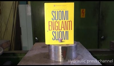 Crush Your Tests Like a Hydraulic Press Crushes This Book