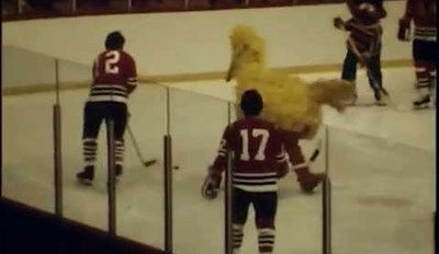 Sesame Street Characters Play a Mean Game of Hockey