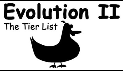 Evolution Explained With a Tier List