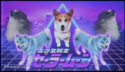 This 80's Inspired Dog Meme Music Video is What Dreams Are Made Of