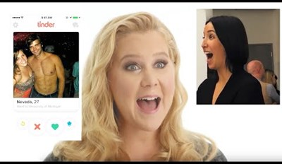 When Amy Schumer Takes Over a Stranger's Tinder Account, Everyone Wins